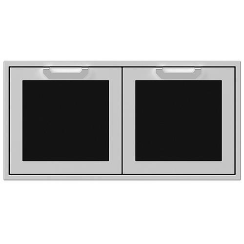"""Hestan - 42"""" Hestan Outdoor Double Storage Doors - AGSD Series - Stealth"""