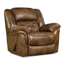 155-91-15  Rocker Recliner, Chaps Saddle - TOP GRAIN LEATHER