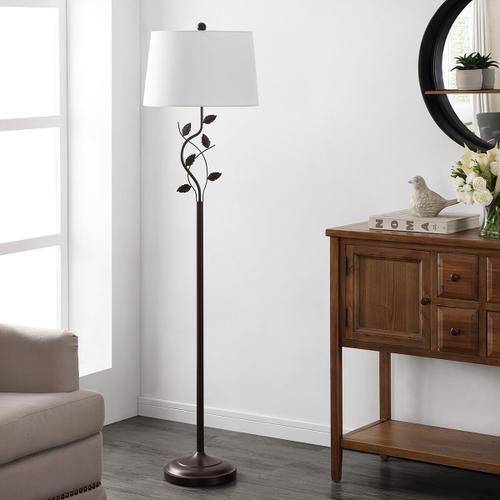 Rudy Iron Floor Lamp - Black