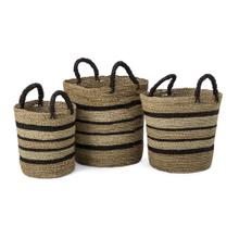 Donnely Seagrass Baskets - Set of 3