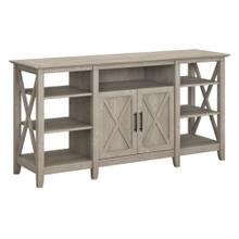 Key West Tall TV Stand for 70 Inch TV - Washed Gray