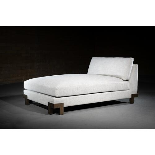 Alder & Tweed - Channing Modular Sectional - ARMLESS CHAISE
