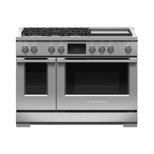 """See Details - Dual Fuel Range, 48"""", 5 Burners with Griddle, Self-cleaning"""
