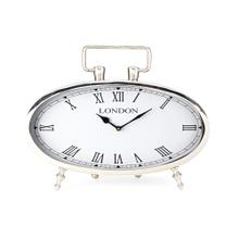NK Harrington Stainless Steel Clock