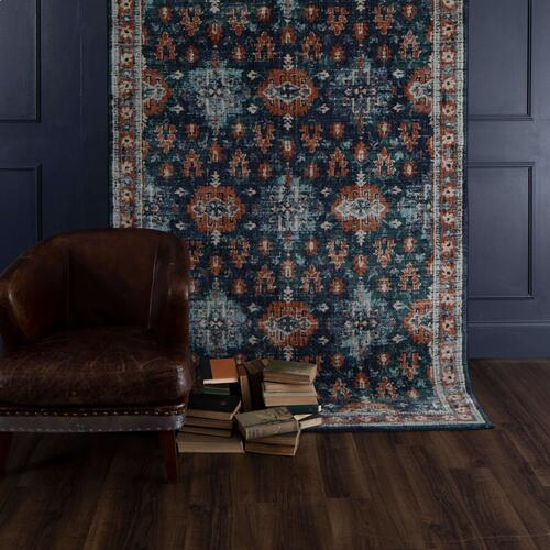 "Soiree Shelburne Indigo 9' 6""x12' 11"""