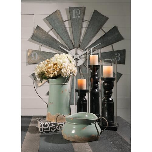 Gallery - Ward Metal Windmill Wall Clock