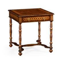 Rope twist square side table (large)