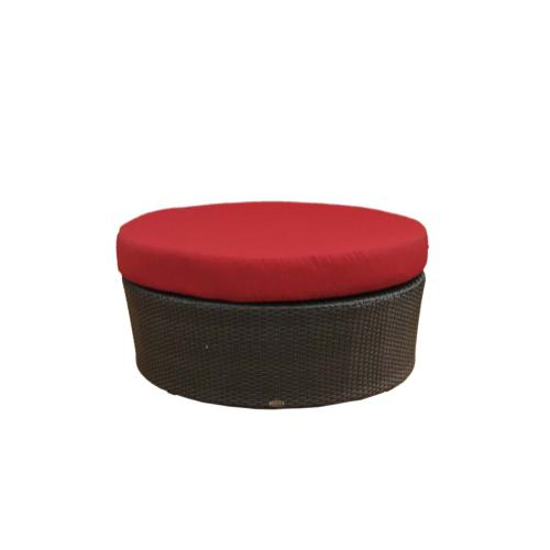 """Palm Harbor Sectional 40"""" Round Ottoman"""