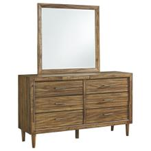 Broshtan Dresser and Mirror