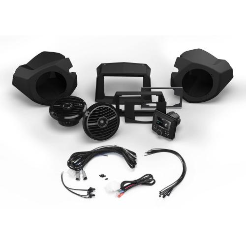 Rockford Fosgate - Stereo and Front Speaker Kit for Select Polaris® RZR® Models