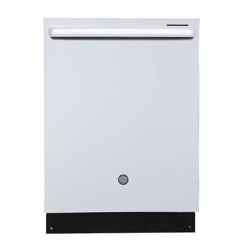 "GE Profile 24""Built-In Stainless Steel Tall Tub Dishwasher White - PBT650SGLWW"
