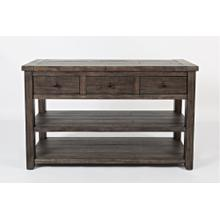 Madison County Sofa/media Table - Barnwood