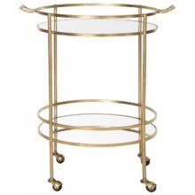 See Details - Lavinia Bar Cart - Gold