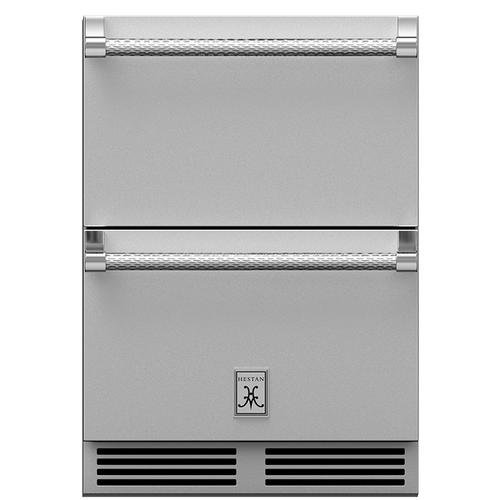 "24"" Hestan Undercounter Refrigerator Drawer and Freezer Drawer - GRF Series"