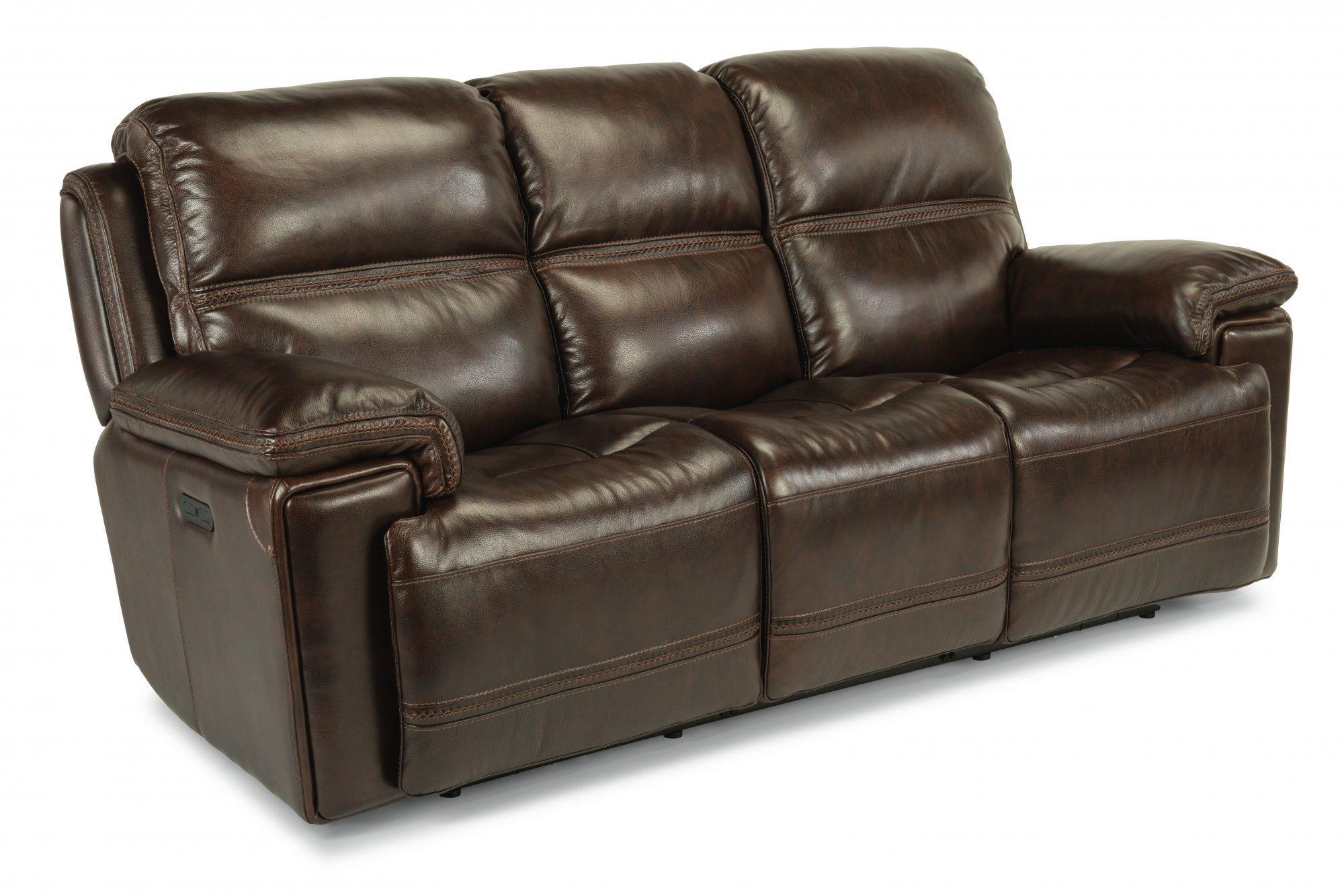 FlexsteelFenwick Power Reclining Sofa With Power Headrests