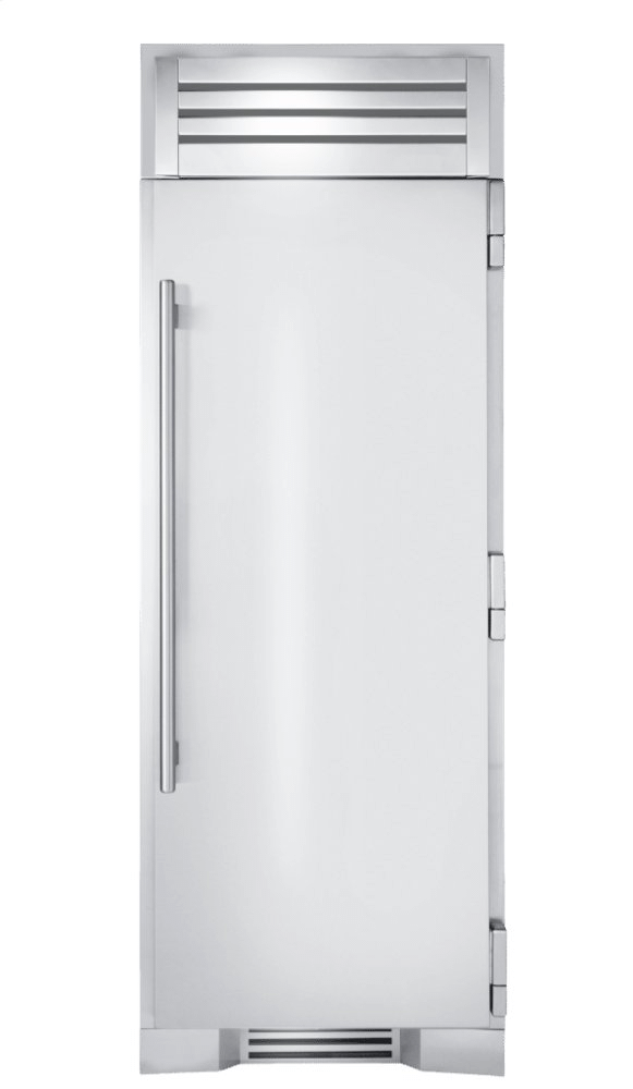 True Residential30 Inch Solid Stainless Door Right Hinge Refrigerator Column