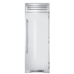 True Residential30 Inch Solid Stainless Door Right Hinge Freezer Column