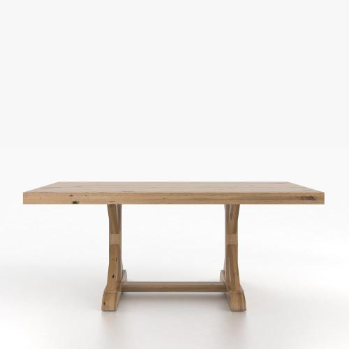 Gallery - Rectangular table with pedestal