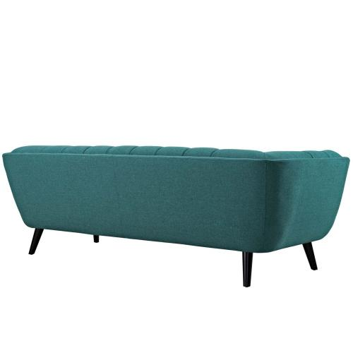 Modway - Bestow Upholstered Fabric Sofa in Teal