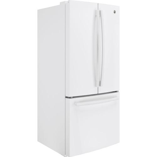 GE 18.6 Cu. Ft. Counter-Depth French-Door Refrigerator White - GWE19JGLWW