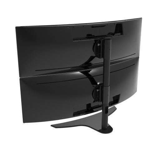 "1x2 Freestanding Desktop Stand for 43"" & 49"" Samsung Super Ultra-Wide Curved Monitors"