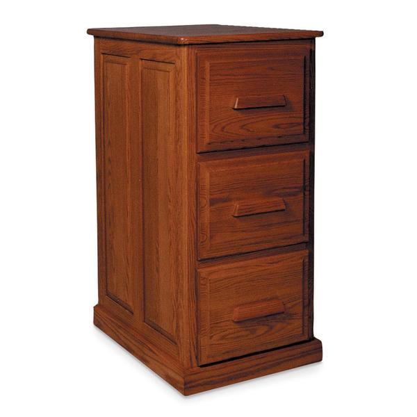 See Details - Classic 3-Drawer File Cabinet, Plain End
