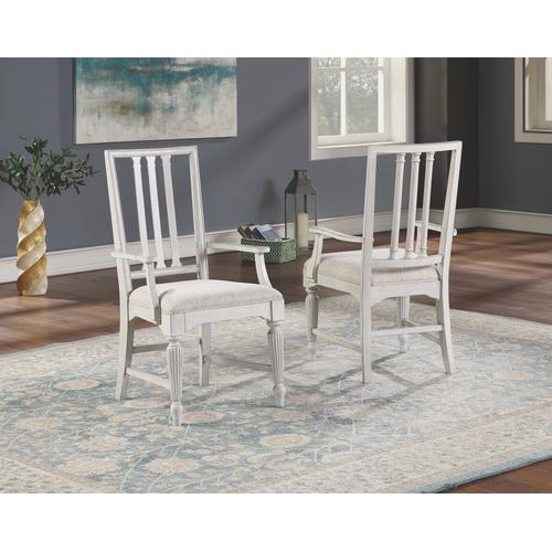 Flexsteel - Harmony Upholstered Arm Dining Chair