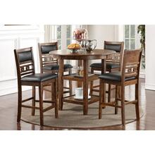 (Brown) GIA Counter Table 5 Pc. Set