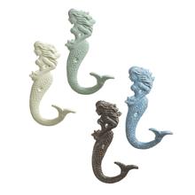 Mermaid Wall Hook (4 asstd)
