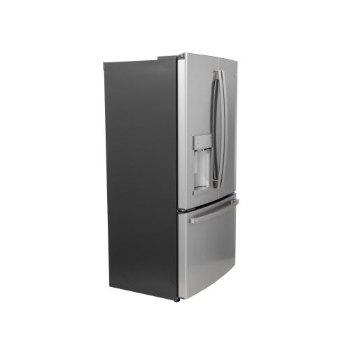 GE Profile™ Series ENERGY STAR® 22.1 Cu. Ft. Smart Counter-Depth Fingerprint Resistant French-Door Refrigerator with Keurig® K-Cup® Brewing System
