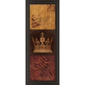 """Regal Panel I"" By Avery Tillmon Framed Print Wall Art"
