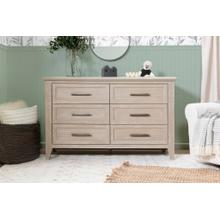 Beckett 6-Drawer Dresser in Sandbar