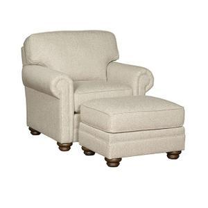 Bentley Companion Chair, Bentley Ottoman