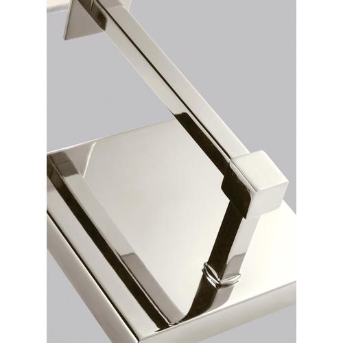Quinn 1 - Light Sconce Polished Nickel