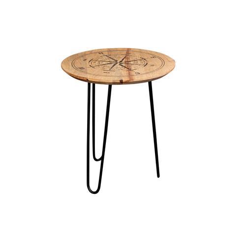 Porter International Designs - Compass End Table, 1901-150