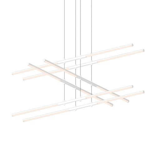 Sonneman - A Way of Light - Tik-Tak® LED Pendant [Size=Stack 3-Tier, Color/Finish=Satin White]