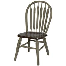 St. Helen Arrow Back Side Chair W/ Tapered Leg