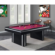 Hanover Pool Table, HGPT01-BLK