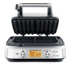 Waffle Makers the Smart Waffle Pro 4 Slice, Brushed Stainless Steel