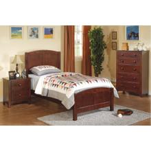 Tristin Twin Bed, Cherry