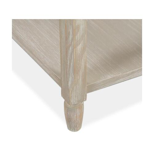 Chairside End Table - Natural