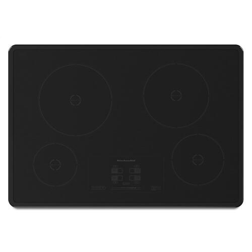 30-Inch 4-Element Induction Cooktop, Architect® Series II - Black