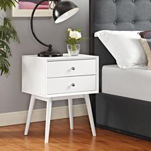 See Details - Dispatch Nightstand in White