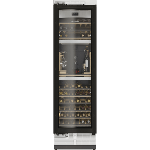 Miele - KWT 2672 ViS - MasterCool Wine Conditioning Unit For high-end design and technology on a large scale.