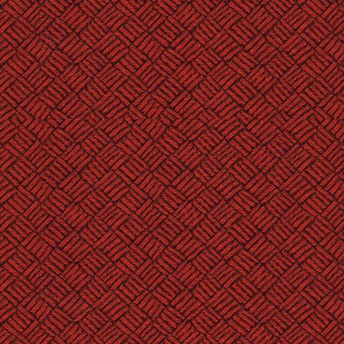 Flash Furniture - 18.5''W Church Chair in Fiji Fire Fabric - Gold Vein Frame