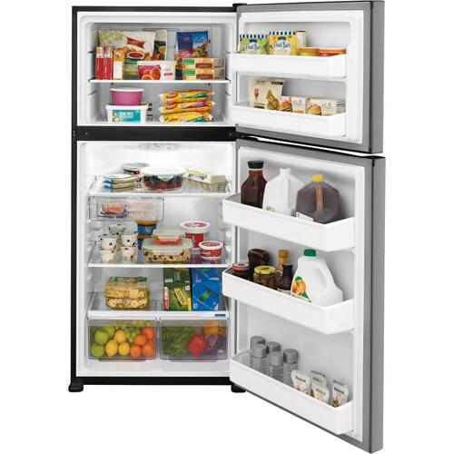 SCRATCH & DENT   Frigidaire 18.3 Cu. Ft. Top Freezer Refrigerator