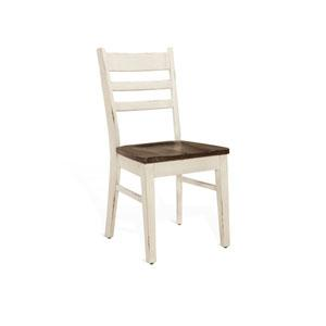 Sunny Designs - Carriage House Ladderback Chair w/ Wood Seat