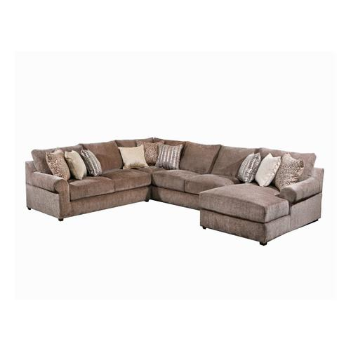 9906 Harmon Four Piece Sectional with Chaise