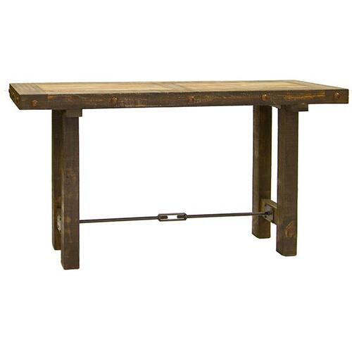 Las Piedras Console W/Painted Wood DISCONTINUED