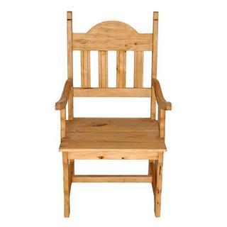 See Details - Wood Seat Plain Arm Chair